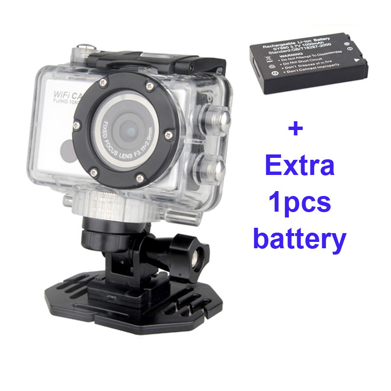 Free Shipping!!WDV5000  HD 1080P Waterproof Camera  Underwater Action Sport CAM