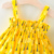 summer yellow 2pcs 2020 new born baby clothes clothing set