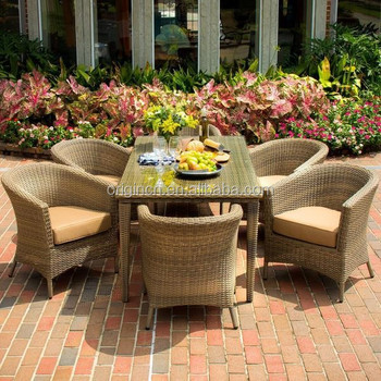 Mexico Style Half Round Tub Chair And Balcony Dining Table Outdoor ...