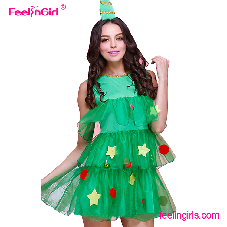 sexy christmas tree costume sexy christmas tree costume suppliers and manufacturers at alibabacom - Christmas Tree Costume