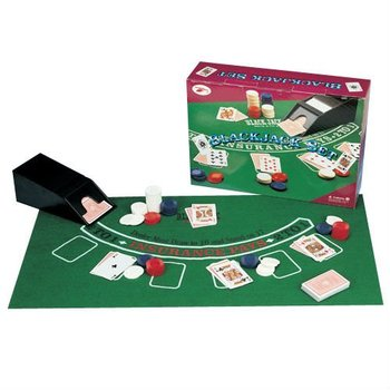 blackjack game set