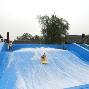 NEW water park surf surfing wave pool with wave machine