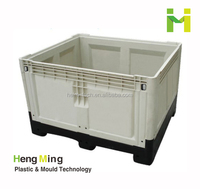 plastic foldable storage box for vegetables and fruits