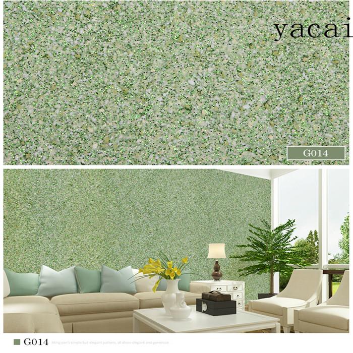 YACAI Innen Silkpflaster Wandfarbe Machen Moderne Haus Design