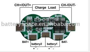 Protection Circuit Module (pcb Board)for 7 4v 18650 Li-ion/li-polymer  Battery Pack - Buy Protection Circuit Module,Pcm,Battery Management System