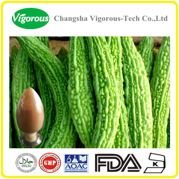 bitter melon powder/10%Charantin Momordica Charantia extract powder/ bitter melon extract
