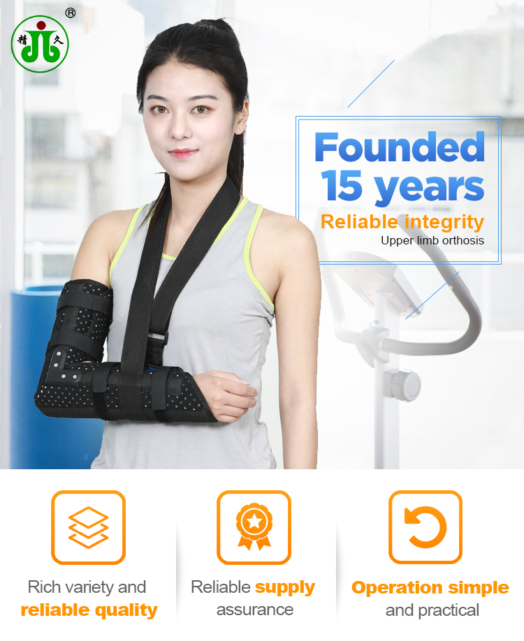 Summer breathable style adult medical arm elbow sling support