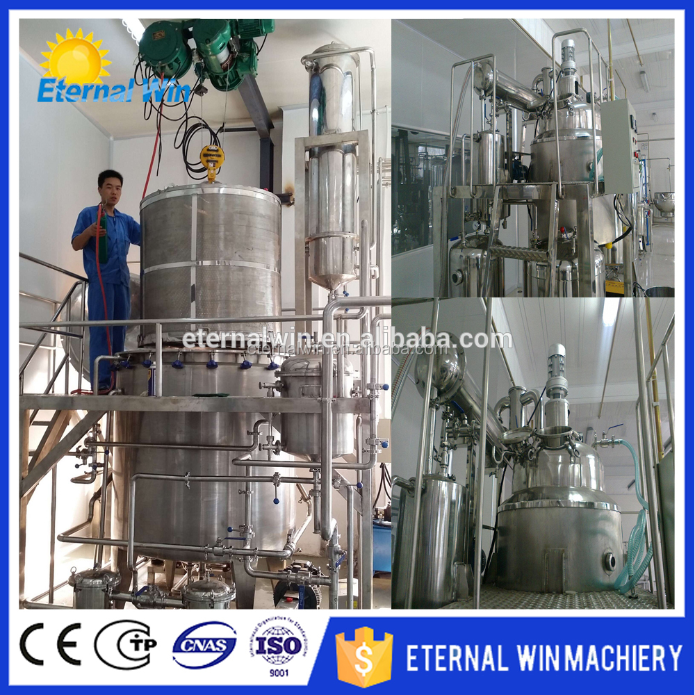 Flower & herb essential extracting equipment / aromatic essential oil making machine