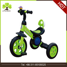 Best selling toys 2017 tricycle baby new model children tricycle singapore Man Pedal Kids Metal Tricycle for children