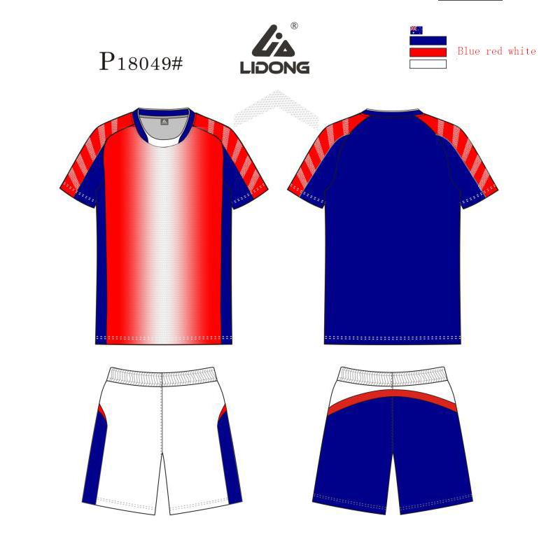 6e6a8f3c7ef 2018 lidong wholesale new model custom team soccer jersey design you own  football uniform sublimation sports