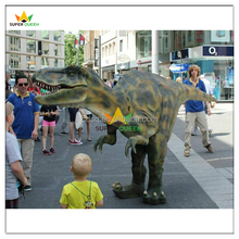 Super Queen- Hidden Legs Lifelike Adult Dinosaur Costumes Robotic Dinosaur Costume T rex for Sale