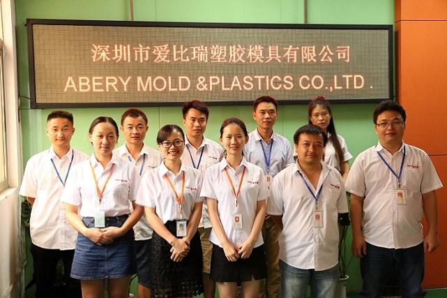 OEM entreprises de fabrication de moules en plastique personnaliser moule en plastique d'injection pour la Beauté pièces De Conteneur