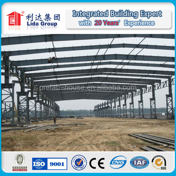 Lida prefabricated warehouse steel fabrication companies