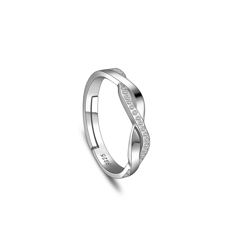 in engagement product ring round plain with diamond claw side er setting floating rings solitaire home