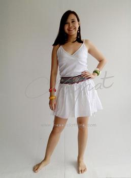 office skirt short Girl
