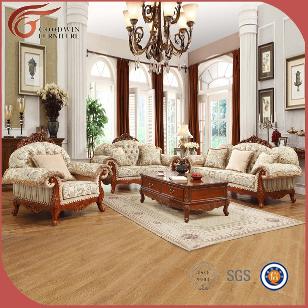 Dubai Muebles De Lujo Sof Muebles Sof De Madera Muebles A127  # Muebles Victorianos Baratos