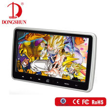 10.1 inch portable dvd player with car mount with IR transmitter