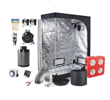 Hydroponic indoor growing Led grow tent kit/ Agriculture systems led grow light complete kit
