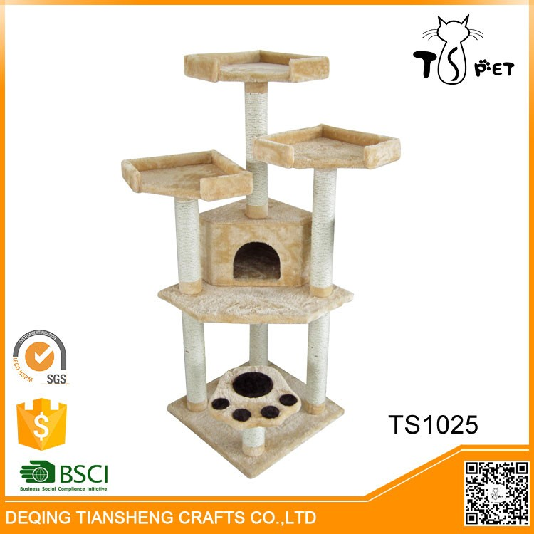 Lovable different colors cat tree cat toy cat product pet accessories