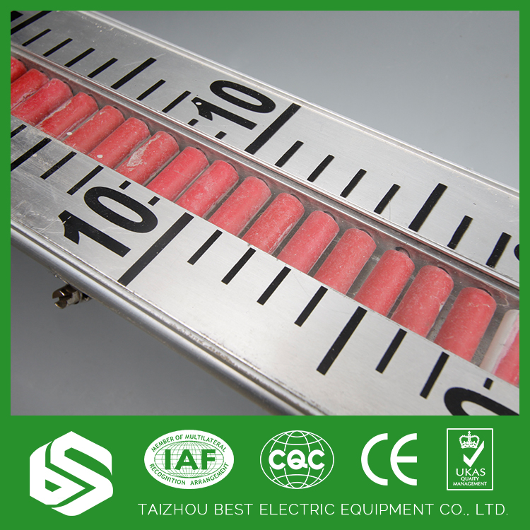 Can run reliably during a long time flange magnetic float level gauge