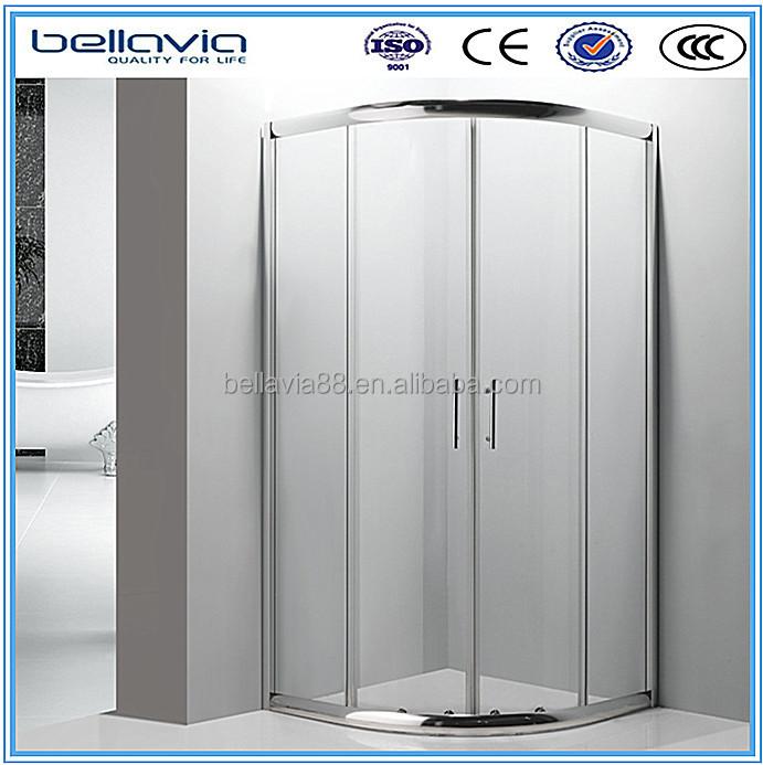 frameless tempered glass shower cubicles enclosure sri lanka, View ...