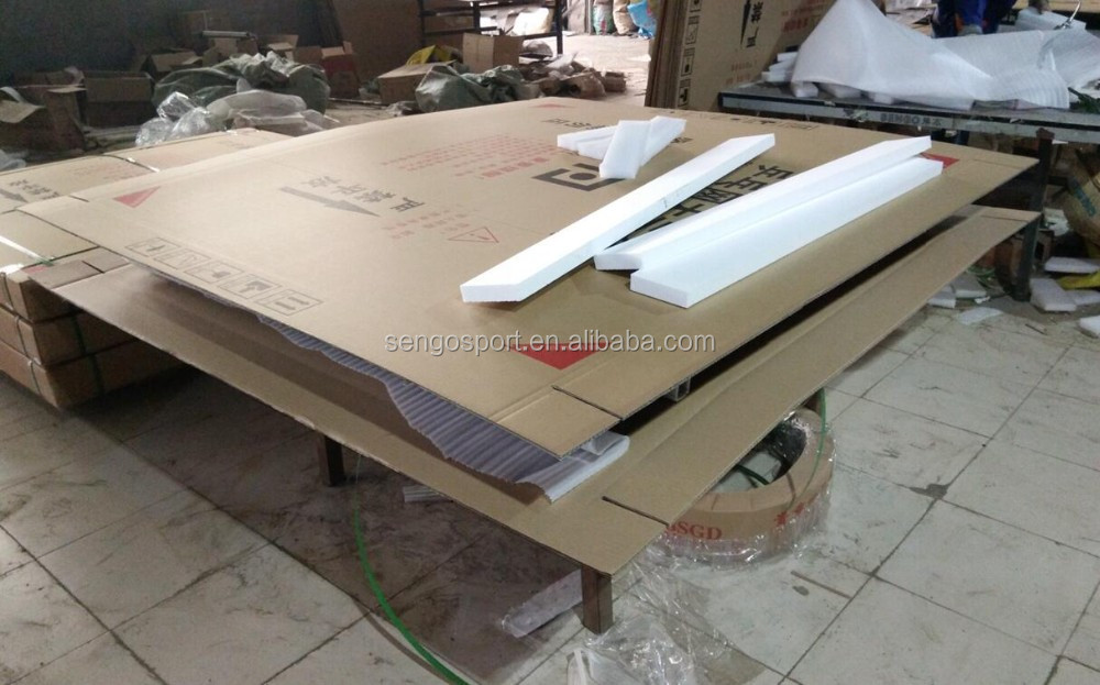 Used cheap indoor easy folding leg ping pong table tennis - Folding table tennis tables for sale ...