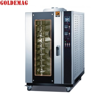 RFL-08RQ Gas Convection oven with steam of combination oven gas heating and electric bakery equipment