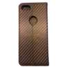 Custom made magnetic flip pu case for iphone 8 carbon fiber leather case for apple 8 wallet case