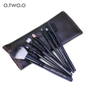O.TWO.O Brown Eye and Lip Makeup Brushes