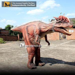 MY Dino DC-017 Walking with Dinosaurs Live Event Costume around City
