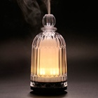 Hot sale white glass diffuser mini aroma essential oil diffuser