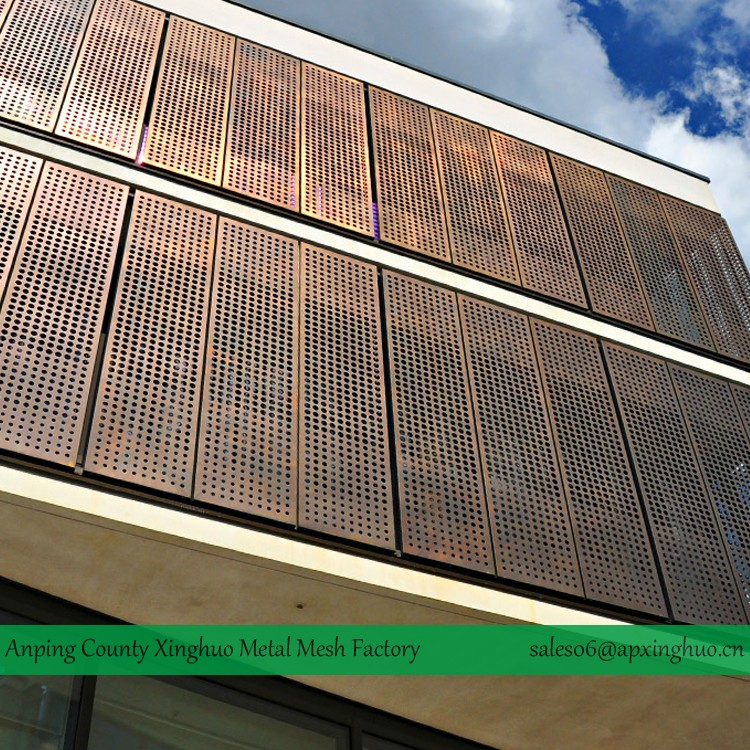 Perforated Metal Wall Cladding Panels Buy Perforated