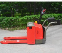 China noelift portable 3T Mechanical steering Electric Pallet Truck capacity 3000kg transport pallet trolley