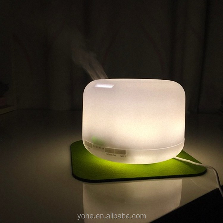most popular products oil diffuser with ultrasonic digital humidifier for SPA and home use