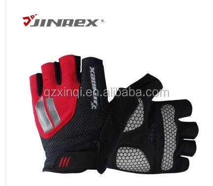 JINREX Cycling Fashion Half Finger Sports Bike Bicycle Cycle Sports Equipment Fitness Glove
