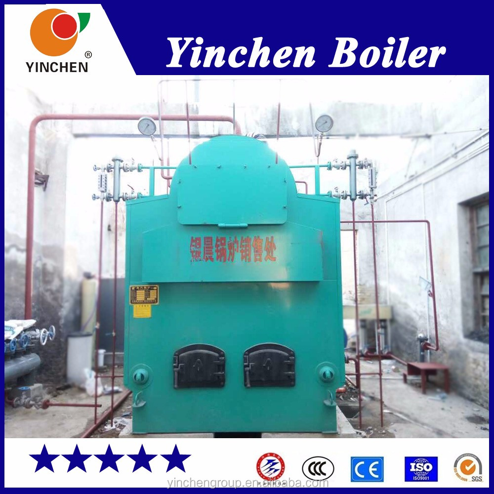 Yinchen Dzh Series Fire And Water Tube Coal Wood Pellet Steam Boiler ...