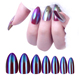 EA nail art fake nails high quality popular 2016 hot sell color tips for nails