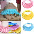 1Pc Soft Baby Kids Best gift Children Shampoo Bath Shower Cap Adjustable Baby Shower Hat Baby