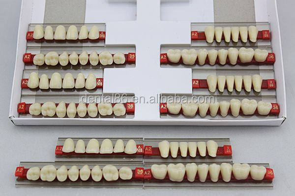 China Most Popular Acrylic Resin Teeth/denture Making Supplies ...