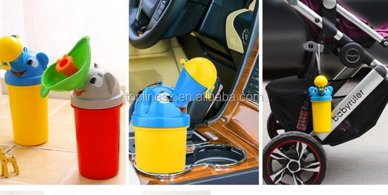 Portable Baby Child Potty Urinal Emergency Toilet for Camping Car Travel Kid Pee
