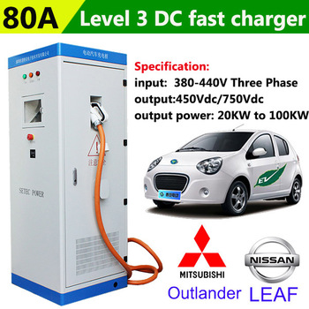 Solar Rapid Electric Car Charging Station Point 20kw To 100kw