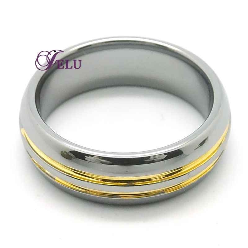 buy cool mens ring male tungsten carbide wedding rings wholesale cheap gold ring sale engravable vintage retro tungsten fashion ring in cheap price on