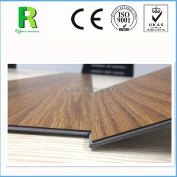 High Quality Click Lock Vinyl Flooring Fire