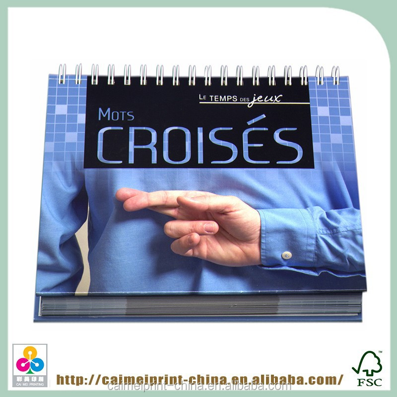 china suppliers high quality 2012 white plastic coil picture books