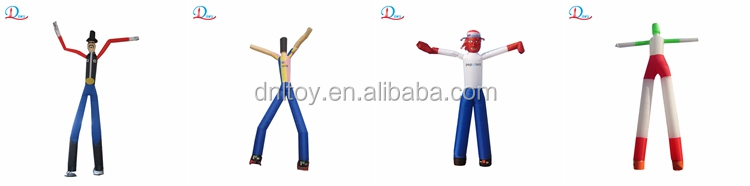 New design and cheap price clown air dancer two legs air dancer