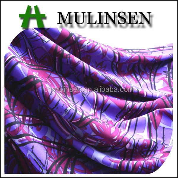 Mulinsen Textile Knit 150D FDY Polyester 4 Way Stretch Ladies Print Underwear Fabric