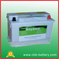 2016 New product dry charged battery 58034-12V80Ah buy direct from china manufacturer