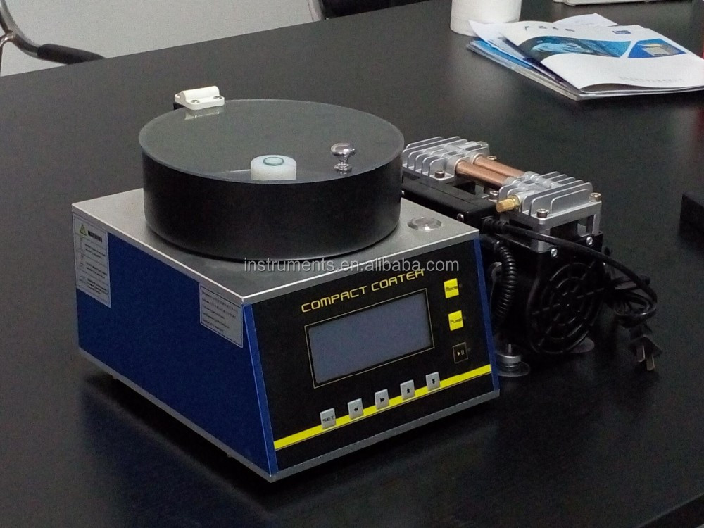 Laboratory programmable vacuum spin coater with 4 vacuum chucks CY-SP4
