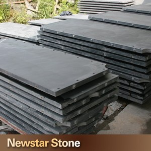 Chinese black color honed pool table honed billiard slate slabs prices