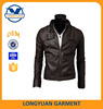 slim fit cheap simple classic man pu leather jacket from China
